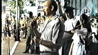 Куба. Нарокко, школа 1 сентября 1992 г.
