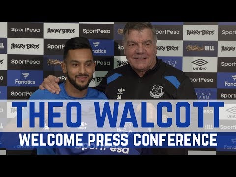 WALCOTT AND ALLARDYCE PRESS CONFERENCE