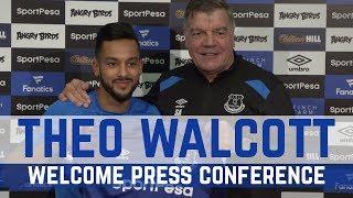 WALCOTT AND ALLARDYCE PRESS CONFERENCE