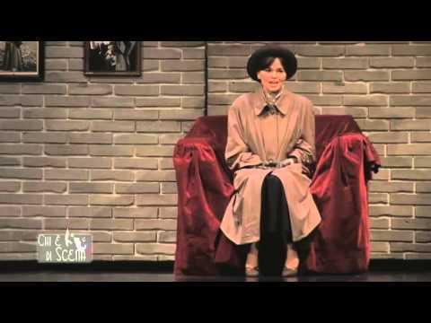 Romina Mondello e Pamela Villoresi a Chi è di scena con Eva contro Eva - ospite Alfonso Santagata