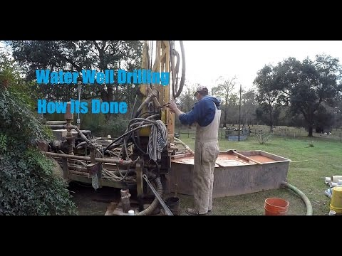 How a Water Well is Drilled - Drilling in Louisiana