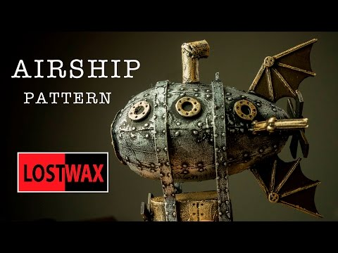 How to Make a Steampunk Airship Christmas Tree Decoration