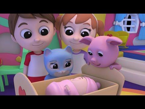 Luke & Lily - Rock a bye baby | Lullaby Song | Children's Songs | Nursery Rhymes