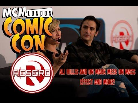 Resero Presents  Mark Meer and Ali Hillis: Shepard & Liara T'Soni OnStage at London Comic Con