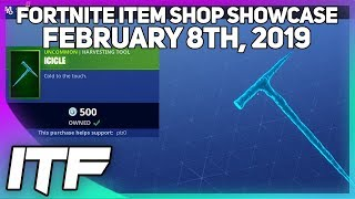 Fortnite Item Shop ICICLE IS BACK! [February 8th, 2019] (Fortnite Battle Royale)