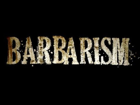 """Larry Booker """"Barbarism in the 21st Century"""""""