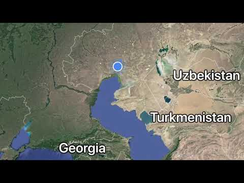 Caspian Sea Project | Kazakhstan [Russian]