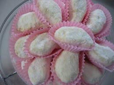 Cara Membuat Kue Putri Salju Roti Enak dan Gurih - YouTube