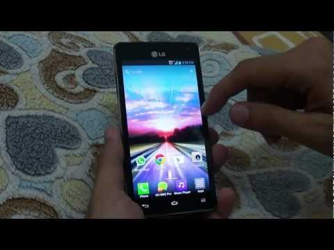 LG Optimus 4X HD Running Optimus UI v3.0 (Demo)