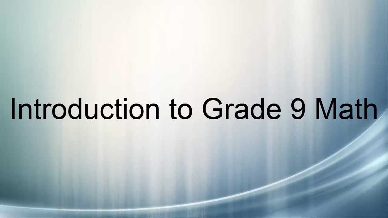 Introduction - Grade 9: Math - LibGuides at Upper Canada Virtual Library