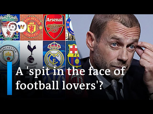 Breakaway 'Super League' threatens UEFA Champions League | DW News