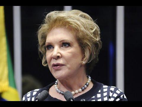 Para Marta Suplicy, morte da vereadora Marielle é uma resposta à intervenção federal no Rio