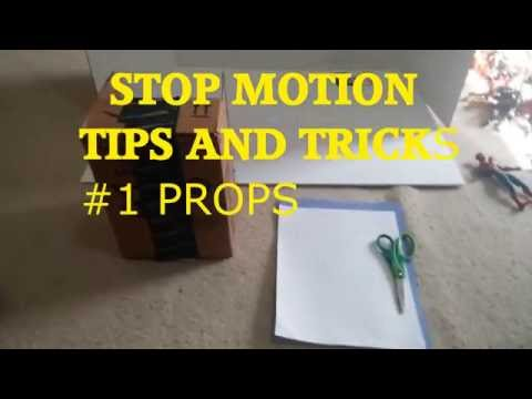 Stop Motion tips and tricks