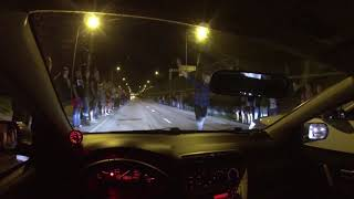 Illegal Night Kielce 1 września civic type r ford mustang ecoboost renault clio sport