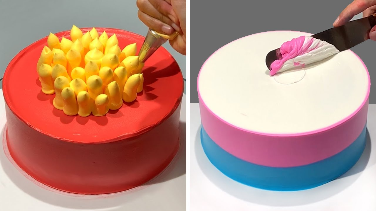 TOP 10 Favourite Cake Decorating Ideas Compilation | Most Satisfying Chocolate Cake Recipes