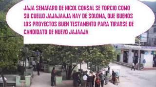 SAN PEDRO SOLOMA Y SU ALCALDE MAS CHUECO