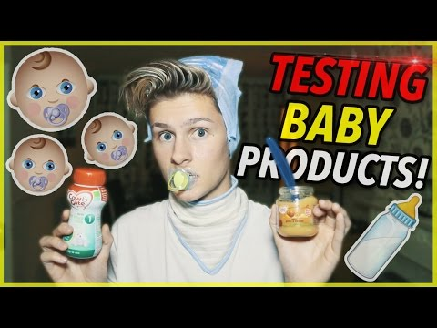 TESTING WEIRD BABY PRODUCTS!