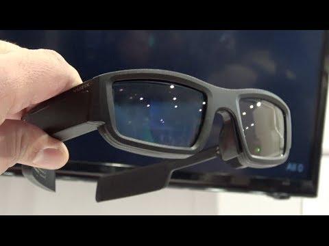 Estos lentes inteligentes realmente son futuristas Vuzix Blade CES 2018