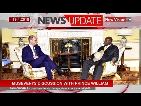 Museveni's discussion with Prince William