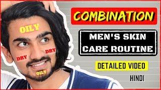 Video Combination Skin Care Routine for Men in Hindi | Combination Skin | Men's Skin Care download MP3, 3GP, MP4, WEBM, AVI, FLV Januari 2018