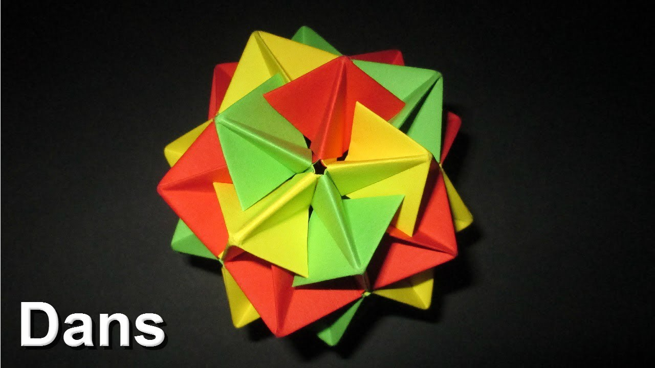 How To Make An Origami Twinboat Icosahedron Complete Instructions