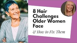 8 Hair Color for Older Women Challenges... and How to Fix Them!