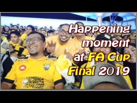 Sepetang di Final FA Cup 2019 di Bukit Jalil