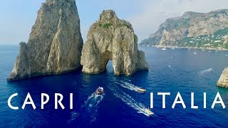 CAPRI • ITALIA • BOAT TRIP 2016 • GOPRO & DRONE