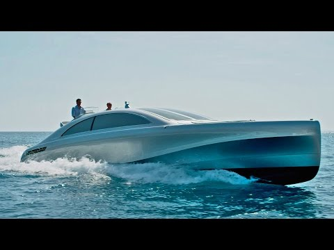 Mercedes-Benz Luxury Yacht 'Arrow460-Granturismo'