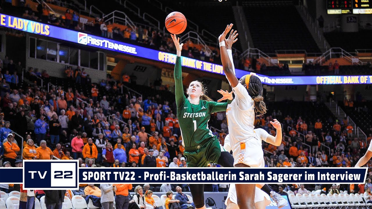 SPORT TV22: Profi-Basketballerin Sarah Sagerer im Interview - Teil 2