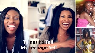 THINGS I WOULD TELL MY TEENAGE SELF| BOYS, HAIR GEL, REBELLION & MUCH MORE Thumbnail