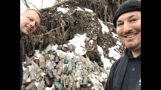 Amazing 1800's Bottle Dig With The DigFellas - Bottle Digging