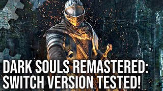 Dark Souls on Switch: Complete Analysis + Xbox 360/PS4 Graphics Comparison!