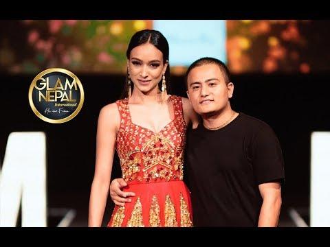 Manish Rai Collection At Glam Nepal International Season 1 Sabita Karki Manish Rai Youtube