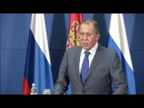 Russian Foreign Minister Sergei Lavrov says talks with the United States on Syria are at a dead end