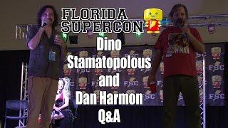Florida Supercon 2014 Dino Stamatopoulos & Dan Harmon The Starburns Industries Panel