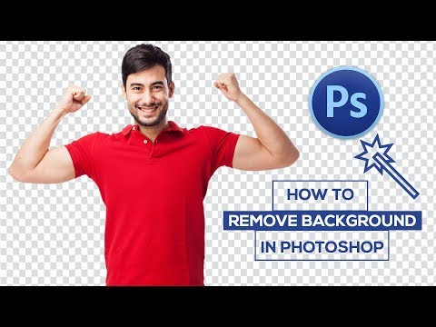 How To Remove Background Image | Magic Wand Tool | Photoshop Tutorial | In Hindi Method Step-by-step