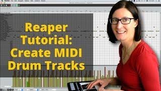 Reaper-Tutorial: Erstellen von MIDI-Drum-Tracks Mit KOSTENFREIEM MT Power Drum Kit VSTi