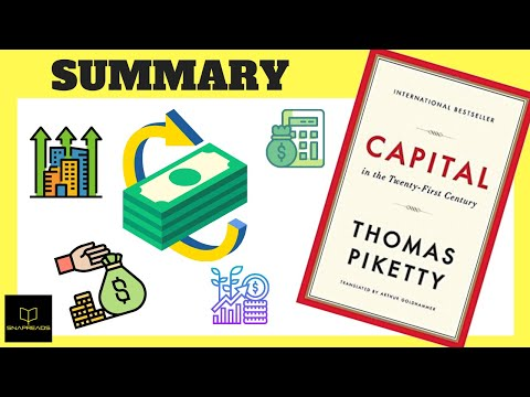 Capital in the Twenty First Century by Thomas Piketty | Animated Book Review