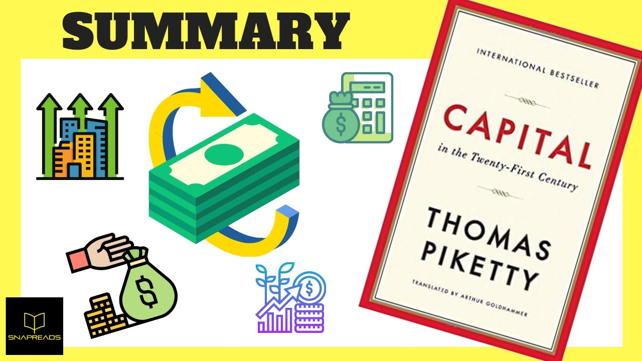 Capital in the Twenty First Century by Thomas Piketty | Animated Book Review - YouTube