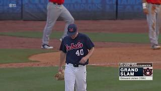 Auburn Baseball vs Ole Miss SEC Tournament Round 2 Highlights