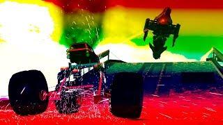 RACING DUPES! Gmod Crazy Fun Car Monster Truck Mech Vehicle Dupes (Garry's Mod)