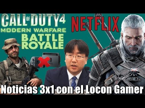 Nintendo dejaría las consolas | The Witcher en Netflix pinta bien | Otro Battle Royale más en COD@ thumbnail