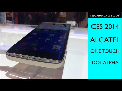 CES 2014 Alcatel One Touch Idol Alpha - Primeras Impresiones