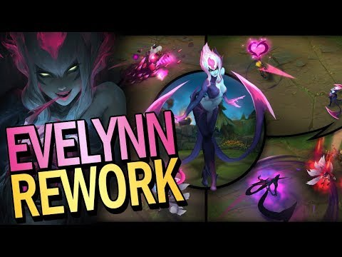 EVELYN REWORK + PATCH NOTES 7.19 + CHAMP SELECT CHANGE