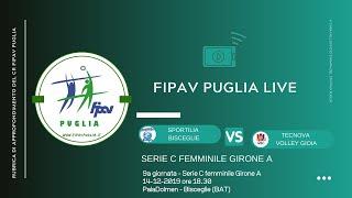 14-12-2019: #fipavpuglia #CFA -  Sportilia Bisceglie - Tecnova Volley Gioia