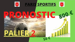 COMMENT GAGNER 800 € AVEC LES PARIS SPORTIFS......PALIER 2 DE LA MONTANTE .