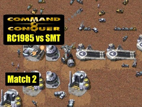 Command And Conquer Online: RC1985 Vs SMT (Match 2)