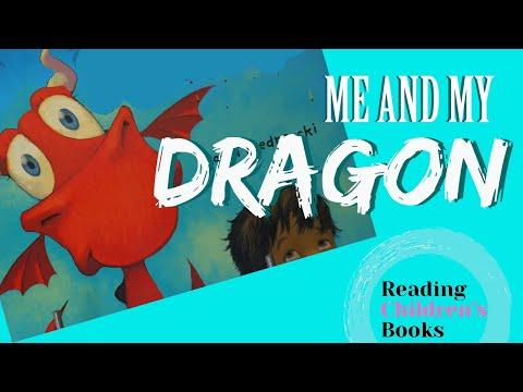 Me and My Dragon Book by David Biedrzycki- Fun Kids Book Read Aloud by Reading Children's Books