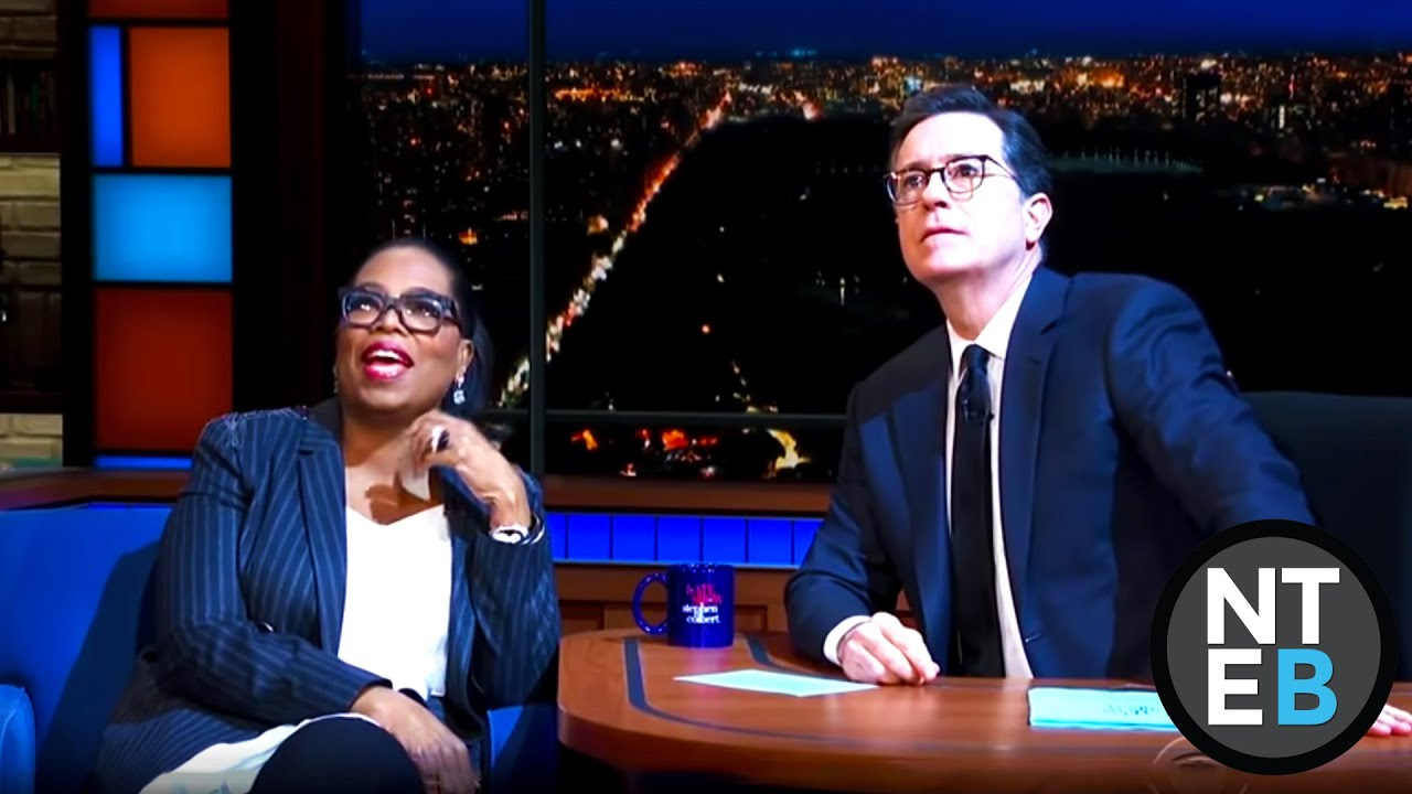 Oprah Winfrey Mocks God Over 2020 Presidential Run On Stephen Colbert Show